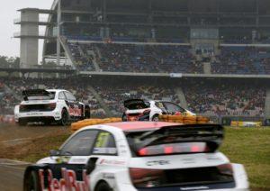 Rallycross Hockenheim Mattias Ekström Audi S1 EKS RX quattro