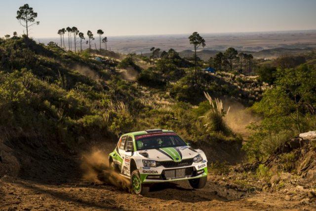 Skoda Fabia R5 WRC Rallye Argentinien WRC2