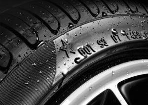 Sternmarkierung auf original BMW -MINI Reifen