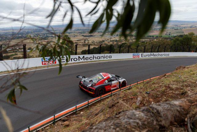 12h Bathurst 2018 Audi R8 LMS #37 (Audi Sport Team WRT), Robin Frijns/Stuart Leonard/Dries Vanthoor Foto: © Mark Horsburgh