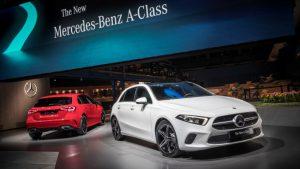 Neue Mercedes-Benz A-Klasse 2018 Weltpremiere in Amsterdam Foto: © Mercedes