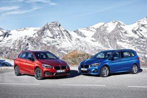 BMW 2er Active Tourer und 2er Gran Tourer Foto: © BMW AG