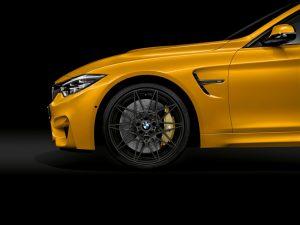 BMW M4 Cabrio 30 Jahre Edition geschmidete Alufelgen  exklusiv für das Editions Modell Foto: © BMW AG