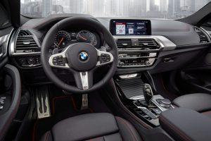 BMW X4 Modell 2018 Cockpit Foto: © BMW