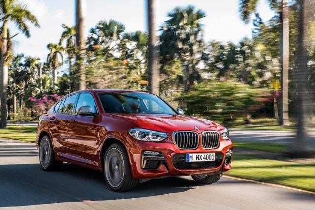 BMW X4 Weltpremiere auf dem Genfer Autosalon 2018 Foto: © BMW AG