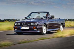 BMW M3 Cabrio (E30) 1988 Foto: © BMW AG