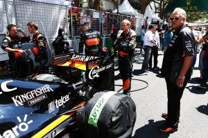 Dr. Vijay Mallya beim GP von Monaco GP 2015 Foto: © Force India