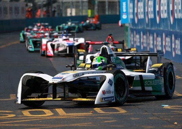 Formel EA udi e-tron FE04 #1 (Audi Sport ABT Schaeffler), Lucas di Grassi Foto: © Audi Communications Motorsport / Michael Kunkel