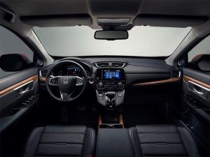 Neuer Honda CR-V 2018 Innenraum Foto: © Honda