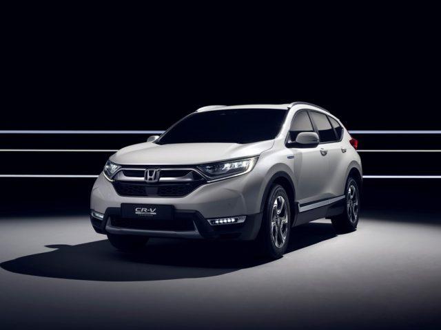 Honda CR-V Hybrid (2018) Europapremiere in Genf Foto: © Honda