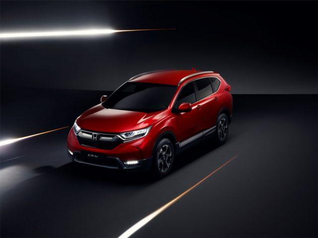 Neuer Honda CR-V 2018 Foto: © Honda