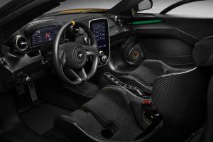 McLaren Senna Innenraum  mit Carbon Theme von MSO Foto: © McLaren Automotive