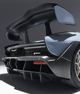 McLaren Senna Heckflügel Foto:© McLaren Automotive Limited