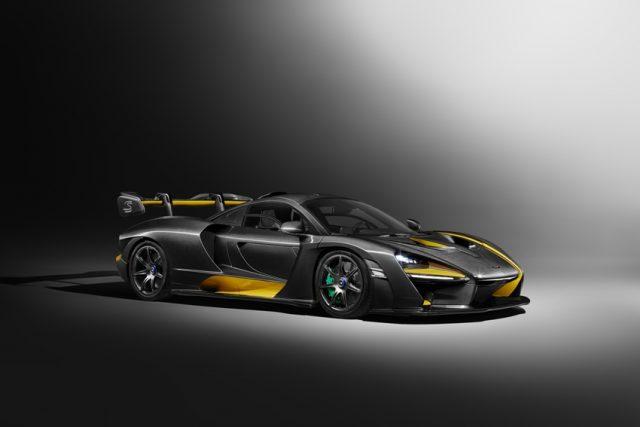 McLaren Senna+Carbon Theme von MSO Foto: © McLaren Automotive