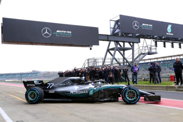 Mercedes-AMG Petronas Motorsport, Präsentation, F1 W09 EQ Power+ Foto: copy; Daimler AG