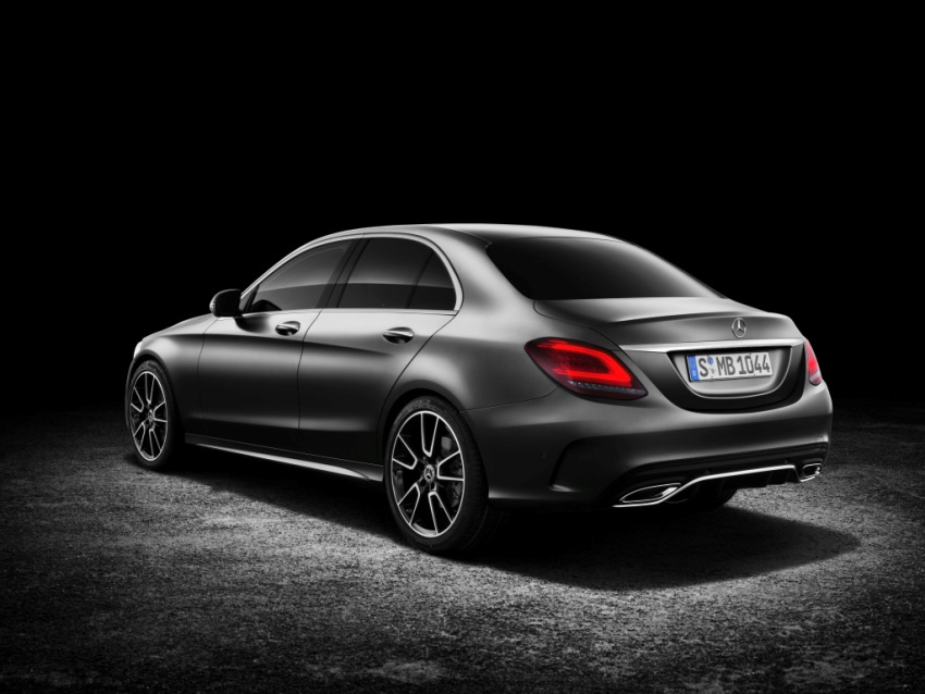 Neue Mercedes C-Klasse Weltpremiere auf dem Genfer Autosalon 2018 ...