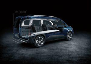 Peugeot Rifter 2018 Schnittmodell Foto: © Peugeot