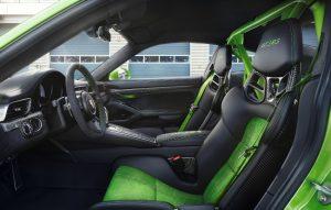 Neuer Porsche 911 GT3 RS 2018 Innenraum Foto: © Porsche