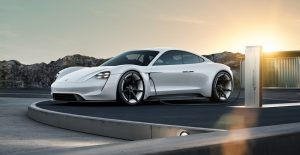 Porsche Konzeptstudie Mission E Foto:© Porsche