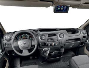 Renault Master Z.E. Cockpit Foto: © Renault