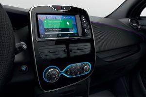 Renault ZOE Smartphone Anbindung via Android Auto Foto: © Renault