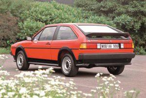 VW Scirocco II  (1985 ) Foto: © Volkswagen AG