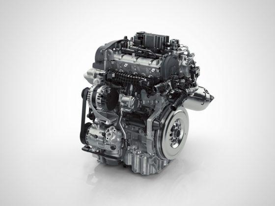 Volvo XC40 2018 Drive-E 3-Zylinder Benzin Motor Foto: © Volvo