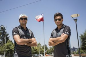 Panasonic Jaguar Racing Mitch Evans und Nelson Piquet Jr Foto: © Jaguar