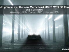 Präsentation Mercedes AMG F1 W09 EQ Power+ für die F1 Saison 2018-Livestream Foto: © Daimler AG