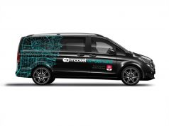 on-demand Ridesharing: moovel Group und Karlsruher Verkehrsverbund mit zusätzlichem Mobilitätsangebot während der IT-Trans Fachmesse Foto: © Daimler AG