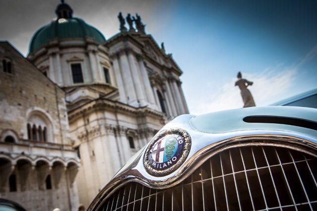 Alfa Romeo auf der Mille Miglia © Alfa Romeo