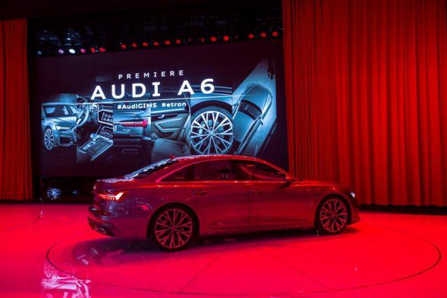 Audi A6 Genfer Automobilsalon 2018 Foto: © Audi AG