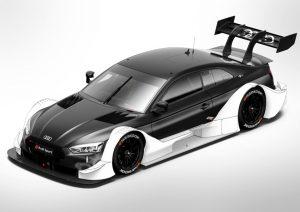 Audi RS 5 DTM 2018  Bisher frei gestaltbare Bereiche der Aerodynamik (weiß dargestellt) sind ab 2018 für alle Autos einheitlich vorgeschrieben Foto: © Audi Communications Motorsport