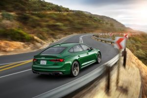 Audi RS 5 Sportback Heckansicht  © Audi AG