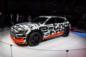 Audi e-tron-Prototyp Genfer Autosalon 2018 Foto: © Audi AG
