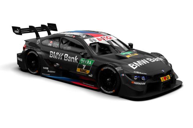 BMW Bank M4 DTM, Bruno Spengler Foto: © BMW Motorport- BMW AG