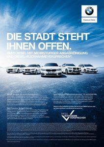 BMW Group Dieselversprechen © BMW AG