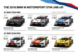 BMW M4 DTM Designs 2018 DTM Saison 2018 Foto: © BMW Motorport- BMW AG