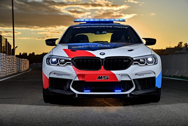 BMW M5 MotoGP Safety Car Foto: © BMW AG