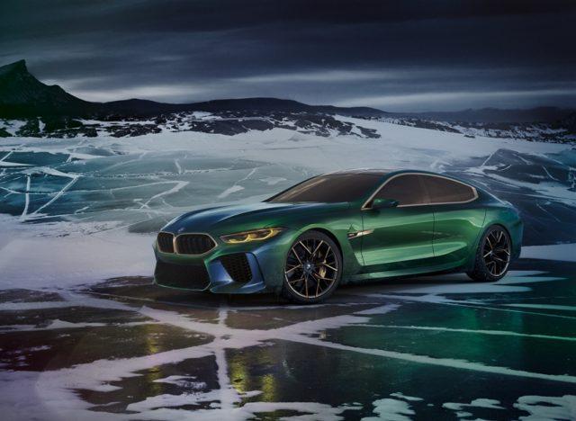 BMW Concept M8 Gran Coupé Foto: BMW AG