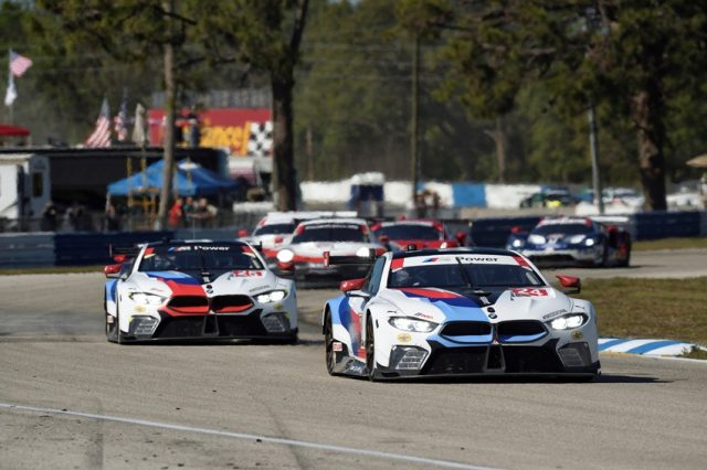 Sebring International Raceway, Sebring, FL (USA). Jesse Krohn (FIN), John Edwards (USA), Nicky Catsburg (NLD), No 24, BMW Team RLL, BMW M8 GTE © BMW Motorsport
