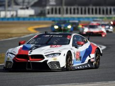 IMSA 2018, Daytona International Speedway, Daytona, FL (USA). Alexander Sims (GBR), Connor de Phillippi (USA), Bill Auberlen (USA), Philipp Eng (AUT), No 25, BMW Team RLL, BMW M8 GTE. © BMW Motorsport
