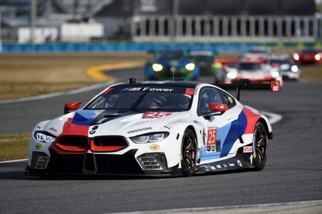 IMSA 2018, Daytona International Speedway, Daytona, FL (USA). Alexander Sims (GBR), Connor de Phillippi (USA), Bill Auberlen (USA), Philipp Eng (AUT), No 25, BMW Team RLL, BMW M8 GTE. © BMW Motorsport