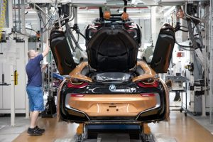 Produktion BMW i8 Roadster im BMW  Werk Leipzig Foto: BMW AG