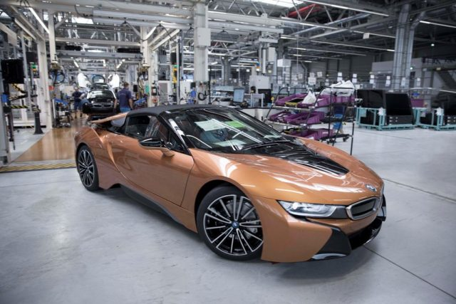 Produktion BMW i8 Roadster im BMW Group Werk Leipzig Foto: BMW AG