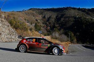 Kris Meeke und Paul Nagle wollen in einem weiteren Citroën C3 WRC an den guten Saisonauftakt anknüpfen Foto: © Citroen