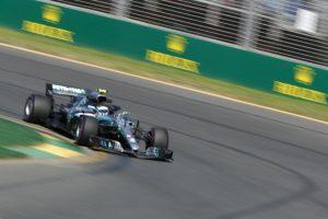 Formel 1 - Mercedes-AMG Petronas Motorsport, Großer Preis von Australien 2018. Valtteri Bottas ©  Mercedes-AMG Petronas Motorsport