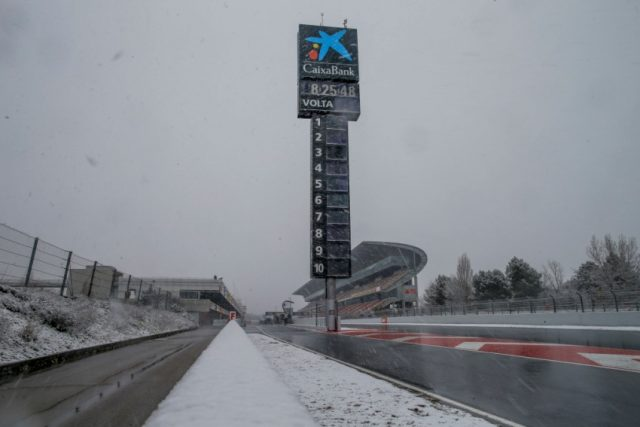 Mercedes-AMG Petronas Motorsport, F1, Barcelona, Tests Tag 3 Foto: © Daimler AG