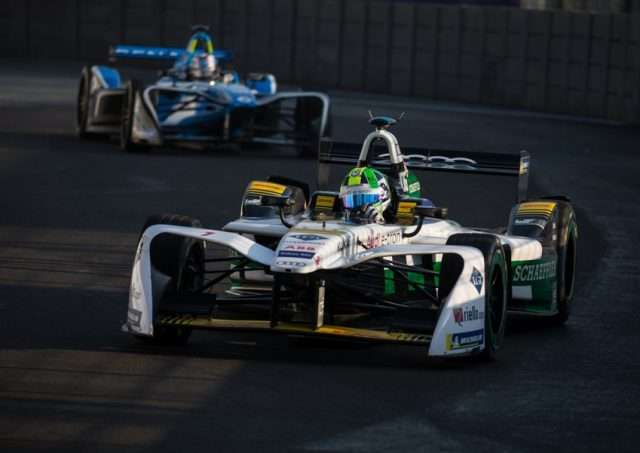 Formel E Mexico City E-Prix 2018 Audi e-tron FE04 #1 (Audi Sport ABT Schaeffler), Lucas di Grassi © Audi Communications Motorsport / Michael Kunkel
