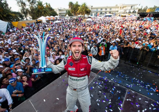 Formel E Mexico City E-Prix 2018 Daniel Abt gewinnt den E-Prix Foto: © Audi Communications Motorsport / Michael Kunkel